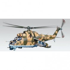 Maquette hélicoptère: MiL-24 Hind Helicopter