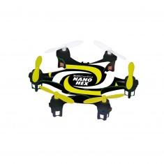 Multicopter Nano Hex noir et jaune