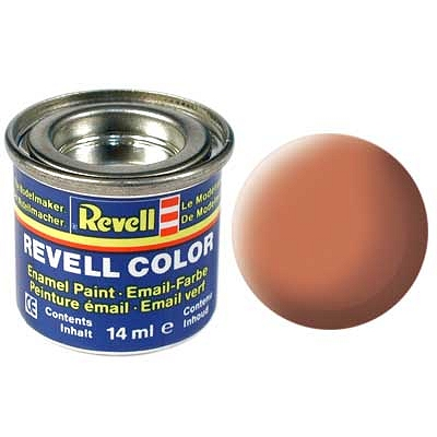 Orange fluo mat n°25 - Revell-32125