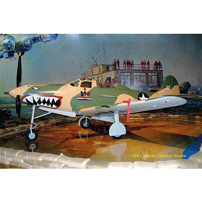 Maquette avion: P-39D Airacobra - Revell-04868