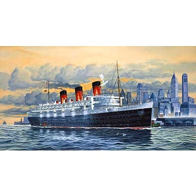 Maquette bateau: Paquebot de luxe Queen Mary - Revell-05203