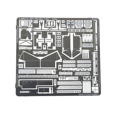 Pièces en photodécoupe pour SPz MARDER 1 A5 - Ozelot - Revell-00714