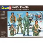 Figurines Pilotes de chasse OTAN : USA, Allemagne, Grande-Betagne