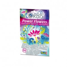 Pochoirs Orbis Airbrush Power Studio : Power flowers