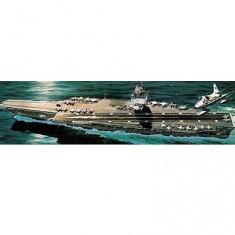 Maquette bateau: Porte-avions à propulsion nucléaire U.S.S. Enterprise