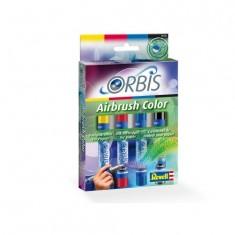 Recharges cartouches Orbis Airbrush Power Studio : Set 3