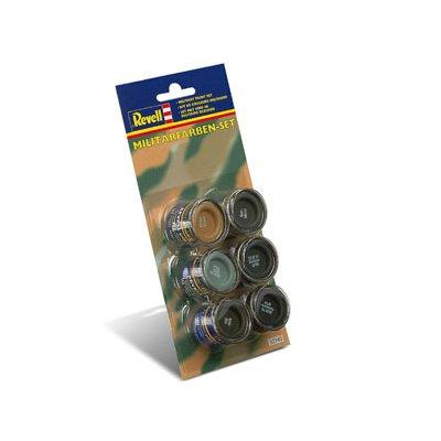 Set de couleurs militaires n°340 - Revell-32340