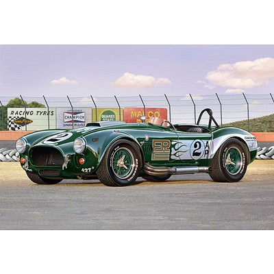 Maquette voiture : Shelby Cobra - Revell-07367