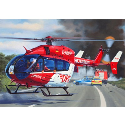 Maquette hélicoptère : Airbus Helicopters EC145 DRF Luftrettung - Revell-04897