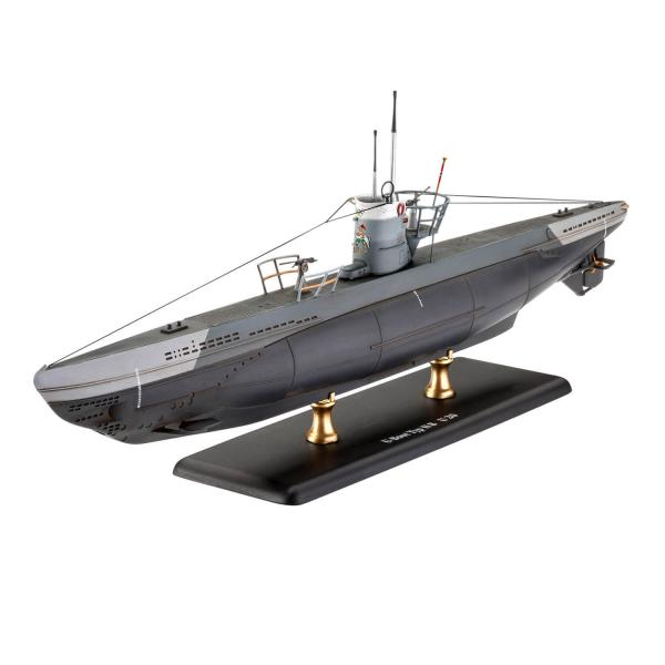 Maquette sous-marin : German Submarine Type IIB (1943) - Revell-05155