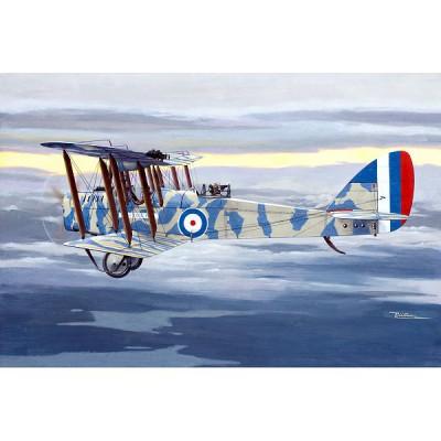 Maquette avion: De Havilland D.H.4 avec moteur RAF 3a - Roden-ROD432