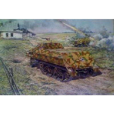 Maquette Char: Munitionskraftwagen fur Nebelwerfer Sd.Kfz.4 - Roden-ROD722
