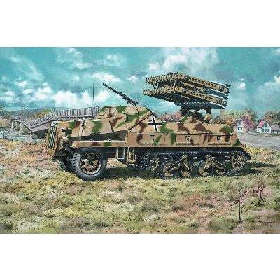 Maquette Char: Sd.Kfz.4/1 PanzerWERFER 42 - Roden-ROD714