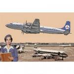 Maquette avion: Douglas DC-7C Royal Dutch Airlines (KLM)