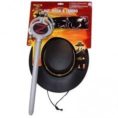 Accessoires panoplie de Zorro