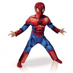 Déguisement Boite Vitrine : Luxe Spiderman Ultimate : 7/8 ans