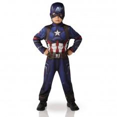 Déguisement Enfant Captain America : Civil Wars : 3/4 ans