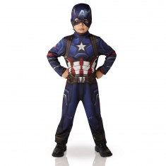 Déguisement Enfant Captain America : Civil Wars : 5/7 ans