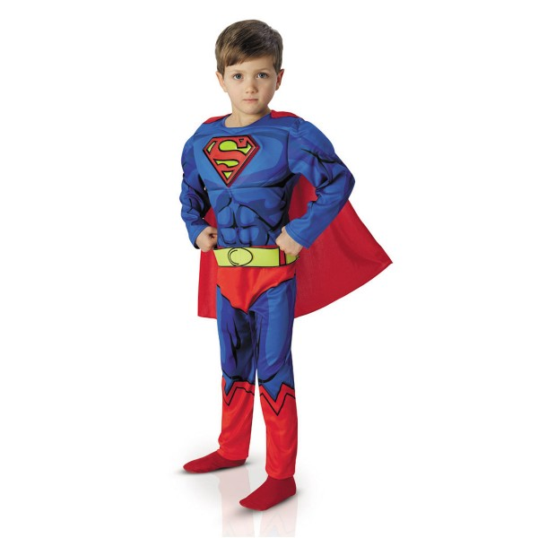 d guisement enfant luxe superman comic book 8 10 ans. Black Bedroom Furniture Sets. Home Design Ideas