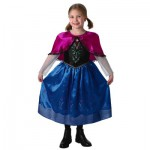 Déguisement La Reine des Neiges (Frozen) : Anna Deluxe : 7/8 ans
