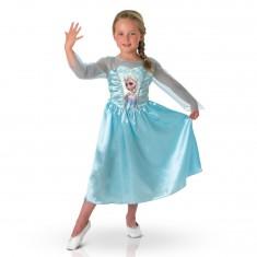 Déguisement La Reine des Neiges (Frozen) : Elsa : 3/4 ans