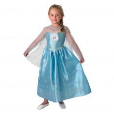 Déguisement La Reine des Neiges (Frozen) : Elsa Deluxe : 3/4 ans