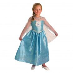 Déguisement La Reine des Neiges (Frozen) : Elsa Deluxe : 5/6 ans