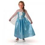 Déguisement La Reine des Neiges (Frozen) : Panoplie luxe Elsa : 7/8 ans