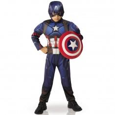 Déguisement Luxe Enfant Captain America : Civil Wars 3/4 ans
