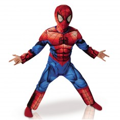 Déguisement Luxe Spiderman Ultimate : 7/8 ans