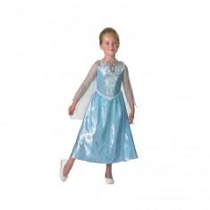 Déguisement musical et lumineux Elsa : La Reine Des Neiges (Frozen) - 7/8 ans