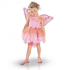 Déguisement Princesse enchantée Libellule Papillon Rose : 3/4 ans