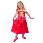 Déguisement Princesses Disney : Panoplie classique Storytime Aurore : 7/8 ans