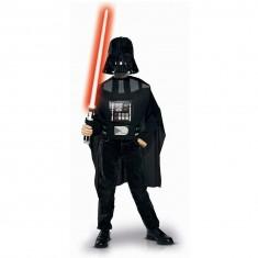 Déguisement Star Wars : Kit Plastron, cape, masque et sabre Dark Vador