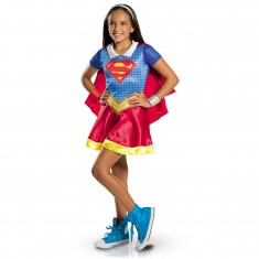 Déguisement Supergirl : DC Super Héros Girls : 5/6 ans