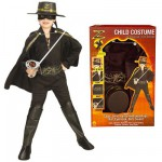Déguisement Zorro :  Panoplie de luxe : 8/10 ans