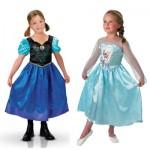 Déguisements La Reine des Neiges (Frozen) : Coffret Classique Elsa + Anna : 7/8 ans