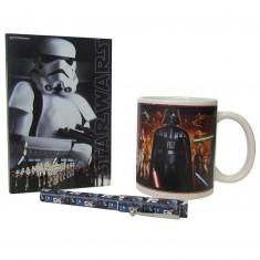 Coffret mug cahier et stylo Star Wars