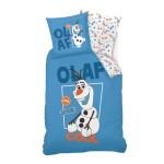 Parure de lit 140 x 200 cm : La Reine des Neiges (Frozen) : Olaf