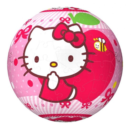 Puzzle ball 108 pièces : Hello Kitty - Ravensburger-12236