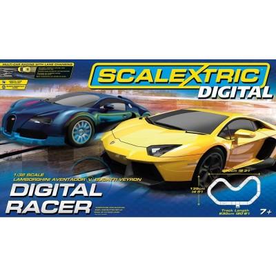 Circuit de voitures chelle 1 32 coffret digital racer scalextric magasin de jouets pour enfants - Scalextric sport digital console ...