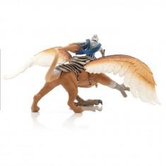 Figurine cavalier griffon