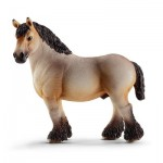 Figurine cheval : Hongre ardennais