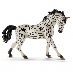 Figurine cheval : Jument Knabstrupper