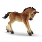Figurine cheval : Poulain ardennais