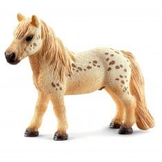 Figurine cheval Hongre Falabella