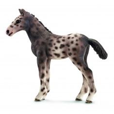 Figurine cheval Knabstrupper : Poulain