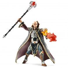 Figurine Chevalier dragon magicien