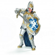 Figurine chevalier griffon avec épée