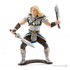 Figurine chevalier griffon sauvage